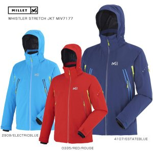 MILLET〔ミレー スキーウェア〕<2017>WHISTLER STRETCH JKT MIV7177|tanabesp
