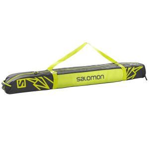 SALOMON〔サロモン 1台用スキーケース〕<2017>EXTEND 1P 130+25 SKIBAG〔ASPHALT/YUZU YELLOW〕L38260200|tanabesp