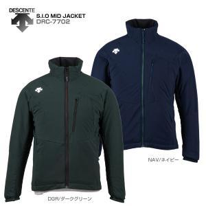17-18 DESCENTE〔デサント ミドルレイヤー〕<2018>S.I.O MID JACKET/DRC-7702 スキー スノーボード