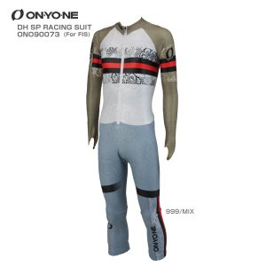 17-18 ON・YO・NE〔オンヨネ GSワンピース〕<2018>DH SP RACING SUIT〔FOR FIS〕ONO90073〔999/MIX〕【FIS対応】|tanabesp