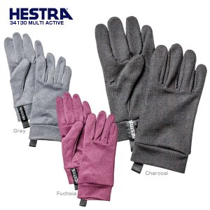 HESTRA〔ヘストラ スキーインナーグローブ〕<2019>34130 MULTI ACTIVE〔マ...