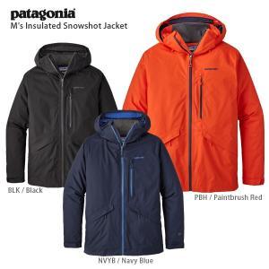 17-18 PATAGONIA〔パタゴニア スキーウェア〕<2018>M's Insulated Snowshot Jacket /31080|tanabesp