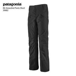17-18 PATAGONIA〔パタゴニア スキーウェア〕<2018>M's Snowshot Pants〔ショート76cm〕/30682〔BLACK〕|tanabesp