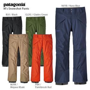 17-18 PATAGONIA〔パタゴニア スキーウェア〕<2018>M's Snowshot Pants〔レギュラー81cm〕/30689|tanabesp
