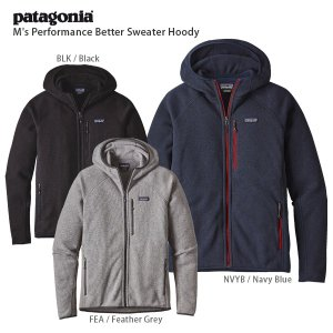 17-18 PATAGONIA〔パタゴニア ミドルレイヤー〕<2018>M's Performance Better Sweater Hoody/25960|tanabesp