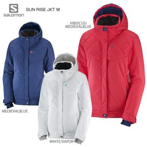18-19SALOMON〔サロモン スキーウェア レディース ジャケット〕<2019>SUN RIS...