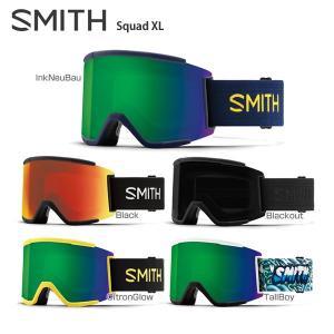 【18-19 NEWモデル 予約受付中】SMITH 〔スミス スキーゴーグル〕<2019>Squad XL〔スカッドXL〕【スペアレンズ付】