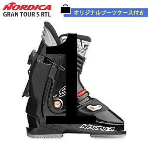 NORDICA〔ノルディカ スキーブーツ リアエントリー〕<2019>GRAN TOUR S RTL〔ブラック 黒〕グランツアー【オリジナルケース付き】 大人用 旧モデル〔SA〕