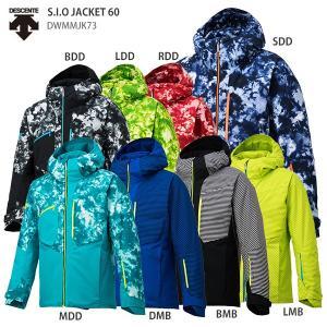 DESCENTE〔デサント スキーウェア ジャケット〕<2019>S.I.O JACKET 60/DWMMJK73 【GARA】