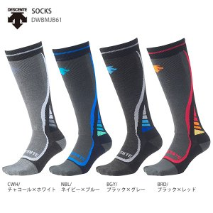 DESCENTE〔デサント スキーソックス〕<2019>SOCKS/DWBMJB61 靴下