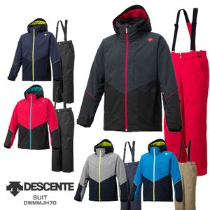 DESCENTE〔デサント スキーウェア メンズ〕<2019>SUIT / DWMMJH70【上下セット 大人用】 MEN
