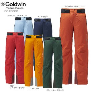 スキー ウェア GOLDWIN ゴールドウィン パンツ 2020 Tellus Pants G31922P GORE-TEX 19-20 旧モデル|スキー用品専門タナベスポーツ