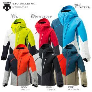 19-20 NEWモデル DESCENTE〔デサント スキーウェア ジャケット〕<2020>S.I.O JACKET 60/DWUOJK51【MUJI】