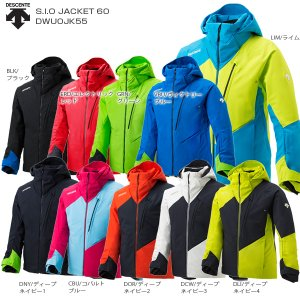 19-20 NEWモデル DESCENTE〔デサント スキーウェア ジャケット〕<2020>S.I.O JACKET 60/DWUOJK55【MUJI】