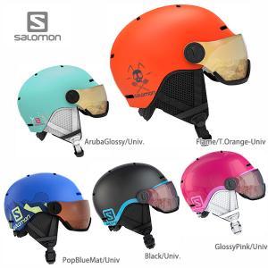 1/14~17 エントリーでP5倍 ヘルメット SALOMON サロモン ジュニア 子供用 2021...