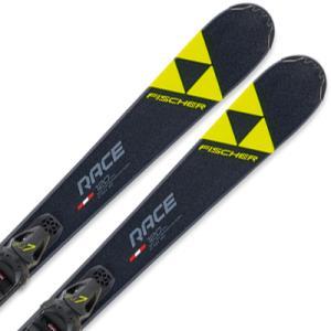 スキー板 キッズ FISCHER フィッシャー ジュニア 2020 RC4 RACE JR. SLR...