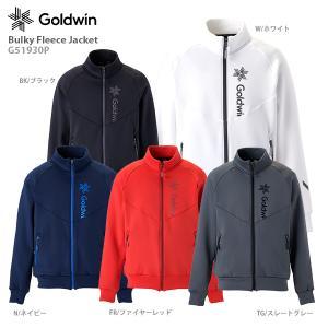 スキー ミドルレイヤー GOLDWIN ゴールドウィン インナージャケット 2021 Bulky Fleece Jacket G51930P 20-21 NEWモデル|スキー用品専門タナベスポーツ