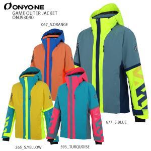 スキー ウェア ON・YO・NE オンヨネ メンズ ジャケット 2021 ONJ93040 GAME OUTER JACKET ゲームアウタージャケット 20-21 NEWモデル|スキー用品専門タナベスポーツ