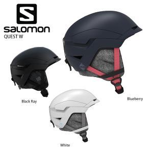 1/14~17 エントリーでP5倍 ヘルメット SALOMON サロモン レディース 2021 QU...