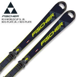 FISCHER フィッシャー ジュニア スキー板 <2021> RC4 WORLDCUP SL JR...