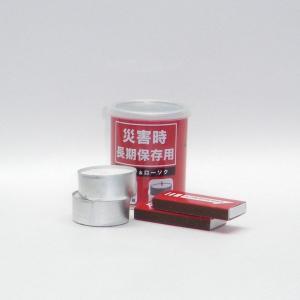 災害時保存用 缶詰マッチ(マッチ・ローソクセット)|tanaka-match