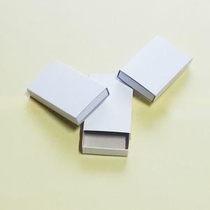 白無地ペーパーボックス寸二型 箱のみ100個 56×35×9mm|tanaka-match