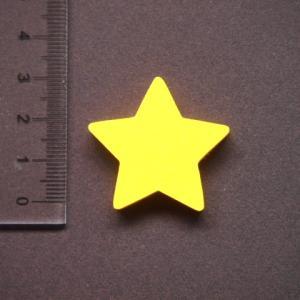 星形 MDFボード製デザインプレート3cm star01|tanakahorutun