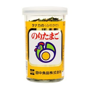 タナカのふりかけ のり.たまご 60g ビンタイプ|tanakasyokuhin