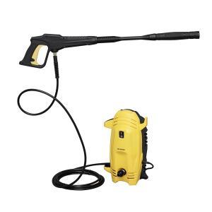 高圧で噴射された水流により、頑固な汚れを洗い落とします高圧洗浄機です。 自動車・バイク・各種農機具の...