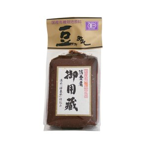国産有機JAS豆味噌 500g 【オーガニック味噌】 tandi