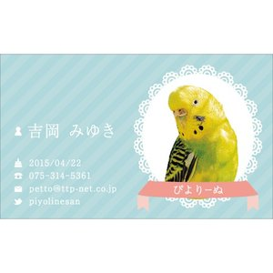 ペット名刺デザイン008(PETTO-008)|tandp