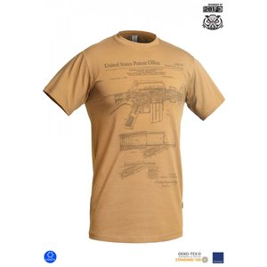"""P1G """"M16/AR15 RIFLE LEGEND"""" Tシャツ