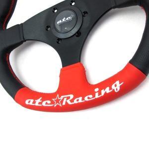 atc★Racing FLAT325R ステアリングホイール|tandtshop-ink|02