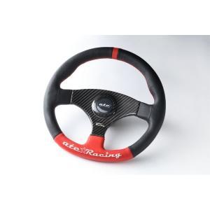 atc★Racing FLAT325R CARBON-Jmodel ステアリングホイール|tandtshop-ink