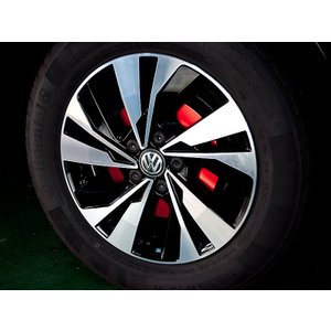 VW POLO TSI (FRONT+REAR) BRAKE COVER SET|tandtshop-ink