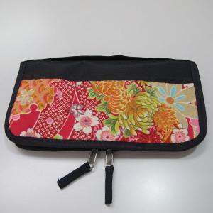 ◆和風 和柄ちりめんパスポートケース|tandtshop-ink