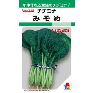 タキイ種苗 葉菜 みそめ 2dl
