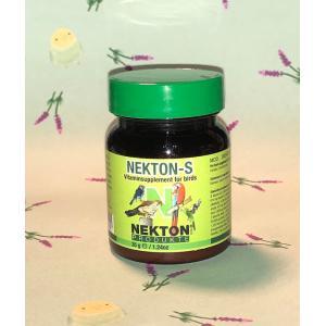 商品名 ネクトン S 35g     商品説明  鳥類にとって必要不可欠な13種類のビタミン、18種...