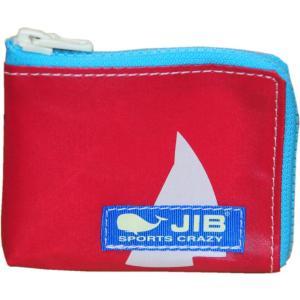 AT-MC16 JIB アトリエ・マイクロクラッチ レッド×ライトブルー ヨット|tanida