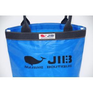 JIB バケツミニ BKmini23 ロケットブルー×チャコールグレーハンドル 27×20×10cm|tanida|03
