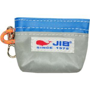 JIB コインケース CC8 グレー×ロケットブルー tanida