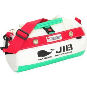 DSSB120 JIB ダッフルバッグSS エメラルドグリーン×レッド|tanida