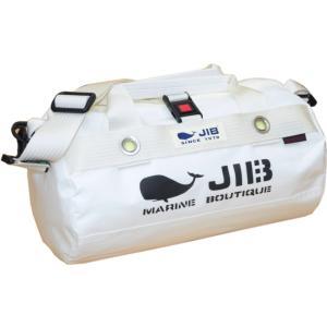 DSSB120 JIB ダッフルバッグSS モノカラー ホワイト×アイボリーテープ|tanida