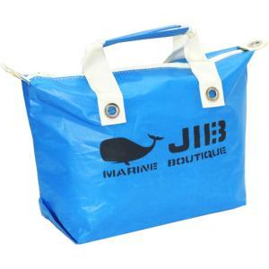 JIB ファスナートートM FTM78 ロケットブルー×アイボリーハンドル オーバージップタイプ|tanida