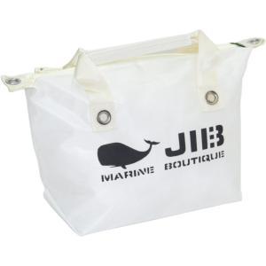FTS56 JIB ファスナートートS ホワイト×アイボリーハンドル|tanida