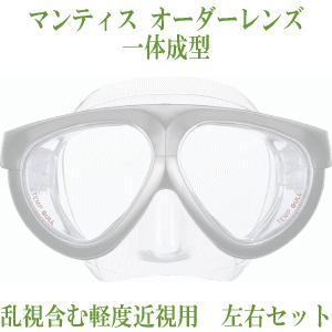 GULL オーダーレンズ/マンティス用 *乱視含む軽度近視用・左右セット/レンズのみ(マスクは別売)/GULL(ガル)/GM-1671|tanida