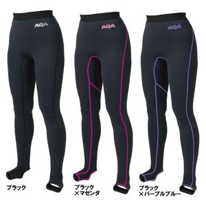 AQA ラッシュ パンツ  KW-4359N  女性用/ロング丈/UV DRY スノーケリングトレンカレディース|tanida