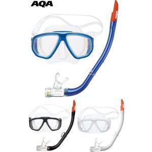 KZ-9059N AQA デュオソフト2&サミードライシリコン シリコン素材 男女兼用 スノーケリング2点セット|tanida