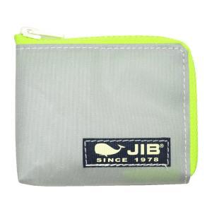 JIB マイクロクラッチ MC12 グレー×蛍光グリーン/ダークネイビータグ|tanida