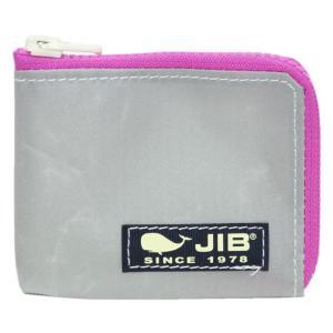 JIB マイクロクラッチ MC12 グレー×ピンク/ダークネイビータグ|tanida